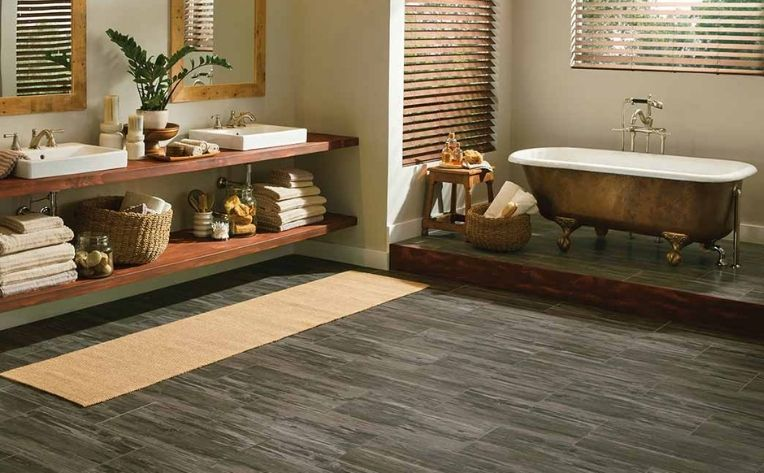 Luxury Vinyl Flooring Bathroom